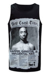 NEW Men Tupac West Coast Times Tank Top Shirt ALL SIZES M-2X Sleeveless 2Pac