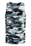 NEW Men Army Camo Black White Gray Size S-2XL Tank Top Shirt Sleeveless