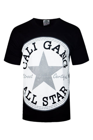 Cali Gang All Star Black T-Shirt