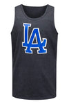 NEW Men LA Dodger Blue Tank Top Size S-XL Cali CA