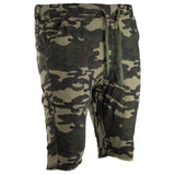 Men Twill Jogger Shorts Men Size 5 Colors!