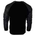 Long Sleeve Raglan Fleece Crew Neck