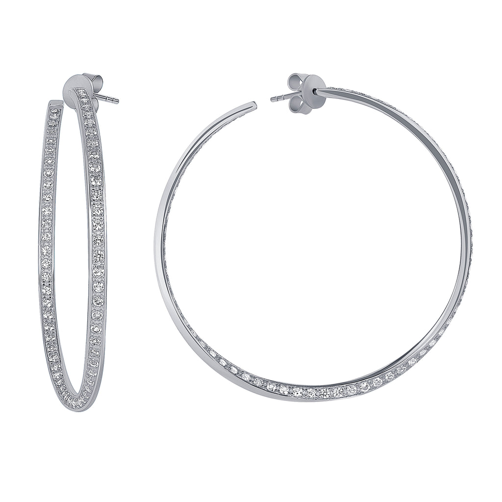 Hailey Hoop Earrings