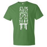 """It's The Most Wonderful Time Of The Year"" Men's Sukkot Tee"