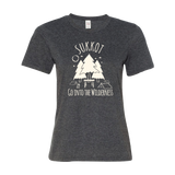 """Go Into The Wilderness"" Women's Sukkot Tee"