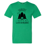 """Go Into The Wilderness"" Men's Sukkot Tee"
