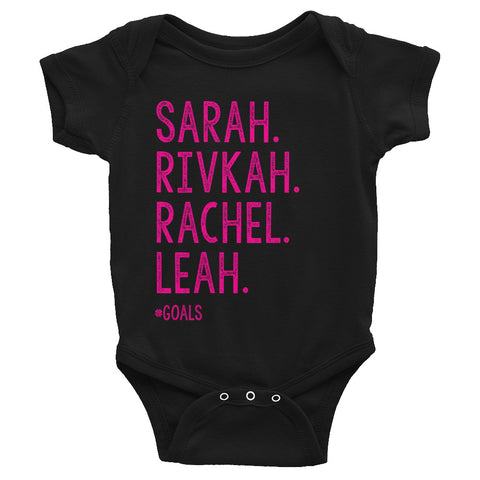 Infant Matriarchs of Israel Onesie