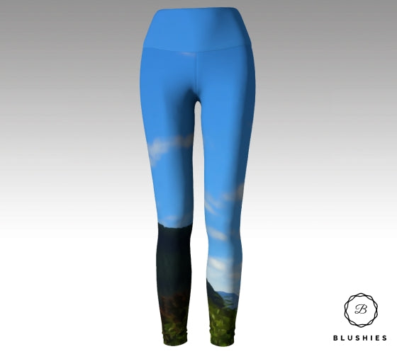 Breathtaking Mountain View Legging