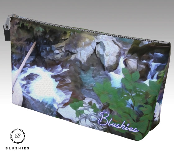 Forest River Scenery Inspired Makeup Bag
