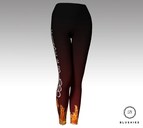 Fire & Blood GOT Inspired Legging
