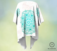 Tapestry Mint Green Floral Kimono