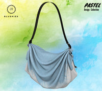 Sky Blue Pastel Design Origami Tote Bag
