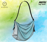 Mint Green Pastel Design Origami Tote Bag