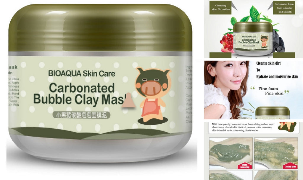 CARBONATED BUBBLE CLAY SKIN CARE MASK