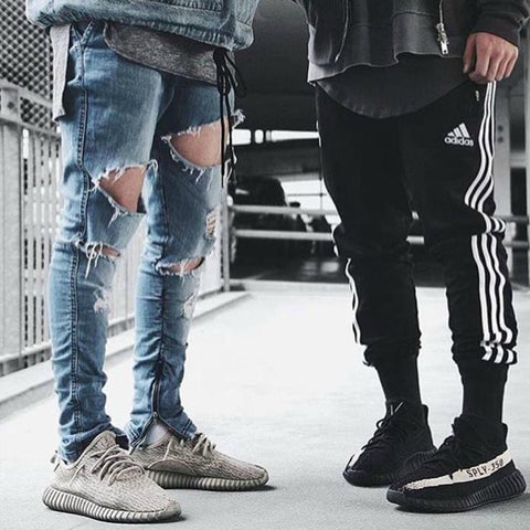 ripped jeans & trackpants by voguestreetwear.com
