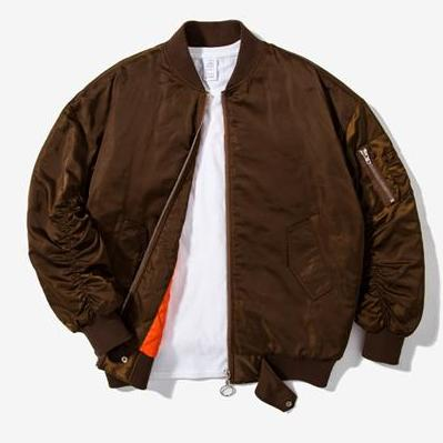 Brown Ma1 Solid Bomber