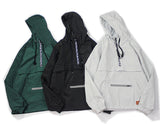 Hooded Windbreaker Aelfric Eden, versions -voguestreetwear.com