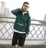 Hooded Windbreaker Aelfric Eden, green -voguestreetwear.com