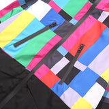 Colorful Windbreaker, pockets with zipper - voguestreetwear.com
