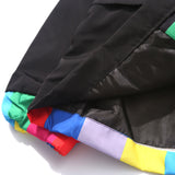Colorful Hooded Windbreaker, lining - voguestreetwear.com