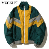 Men´s Windbreaker Jacket with Zipper - Blue or Green