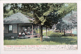 VT, St Albans Bay - Hathaways Point, Cottage with people, hammock - 500012