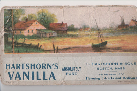 MA, Boston - E Hartshorn VANILLA advertising - 500377