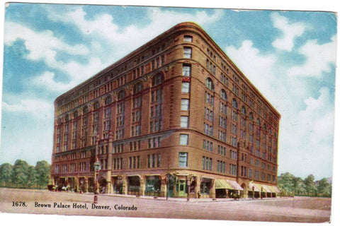 CO, Denver - Brown Palace Hotel postcard - E10374