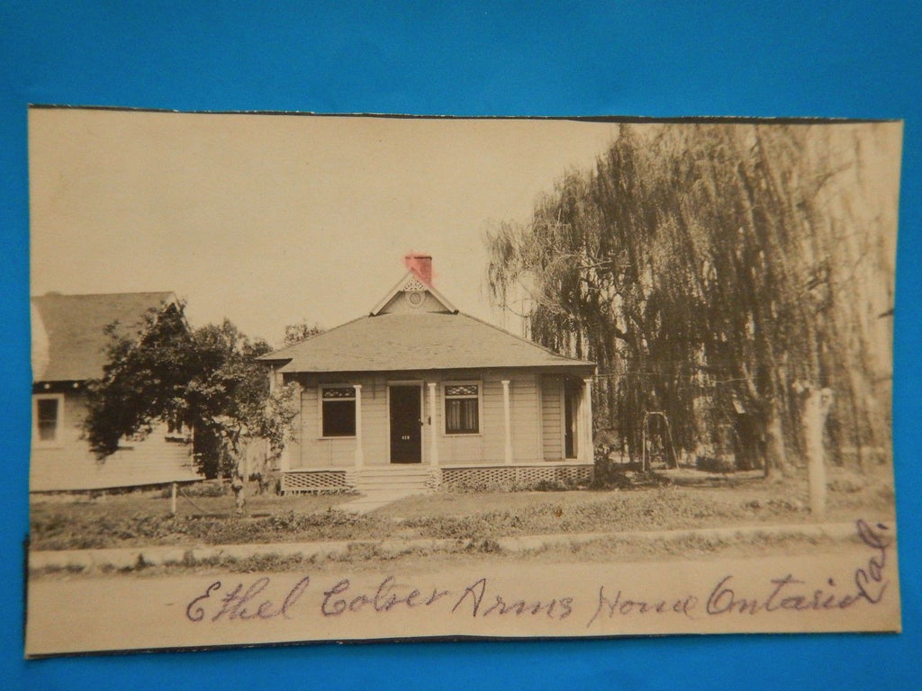 CA, Ontario - Ethel Cotser or Colser Arms House, 412 on door - E05061-can