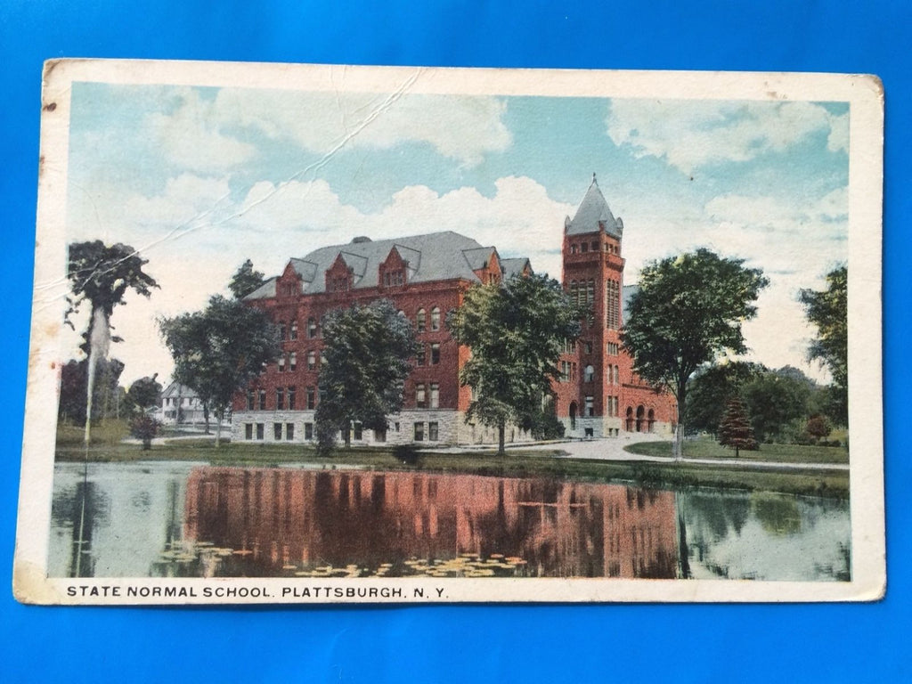 NY, Plattsburgh - State Normal School postcard - H15056