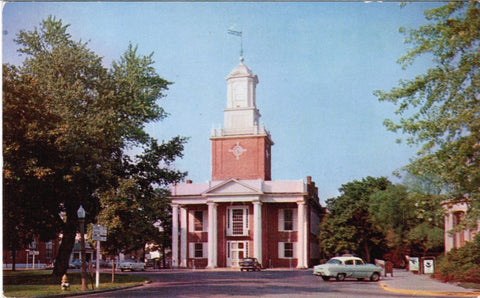 DE, Georgetown - Sussex County Courthouse postcard - B08178