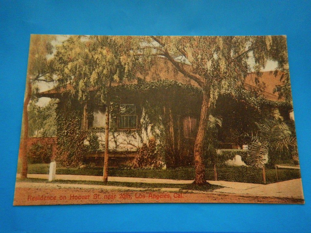CA, Los Angeles - Hoover St residence near 20th - F09225