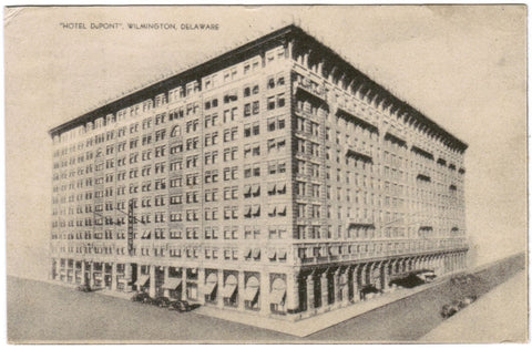 DE, Wilmington - Hotel Dupont, Ruth Murray Miller postcard - w01010