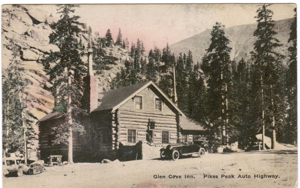 CO, Pikes Peak - Glen Cove Inn, Pikes Peak Auto Highway - D04391