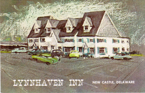 DE, New Castle - Lynnhaven Inn postcard - B08176
