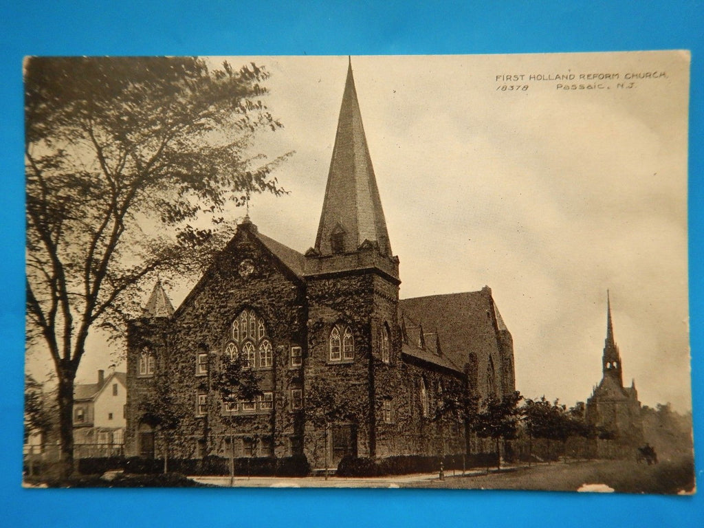 NJ, Passaic - First Holland Reform Church (ONLY Digital Copy Avail) - A07007