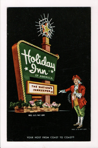 KY, Louisville - HOLIDAY INN postcard - US 42 and Watterson - 605320