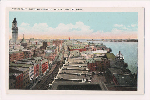 MA, Boston - Atlantic Ave, waterfront - Coca Cola sign - 800162