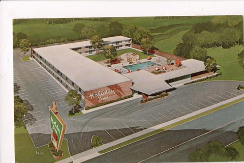 NC, Lumberton - HOLIDAY INN postcard - North No 2 - 800187