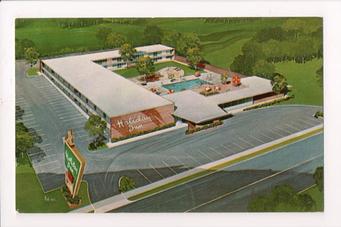 MD, Bowie - HOLIDAY INN postcard - bird eye view - 800888