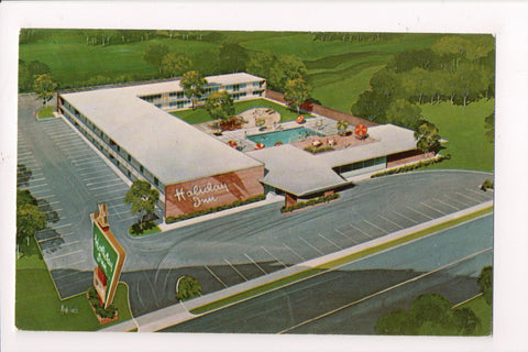 MD, Bowie - HOLIDAY INN postcard - bird eye view - 800899