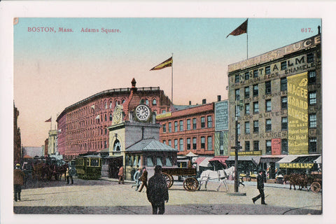 MA, Boston - Adams Square - Holmes, Luce - Allen Bros? - A12268