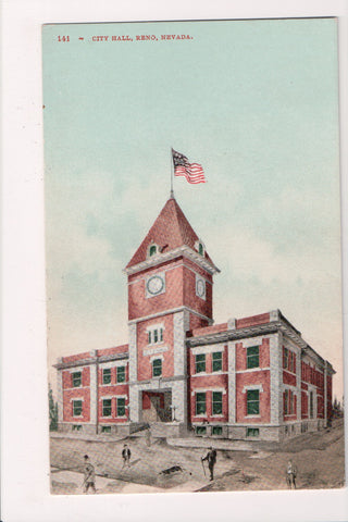 NV, Reno - City Hall - old postcard - A12534
