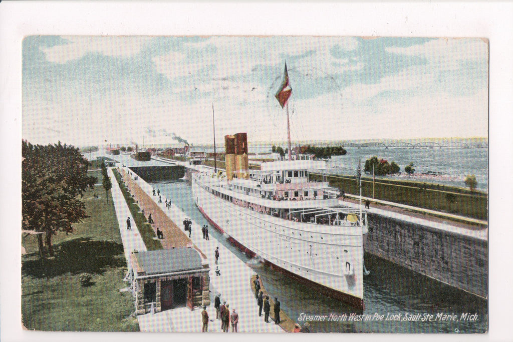 Ship, Boat or Steamer Postcard - NORTH WEST - @1909 - A12581