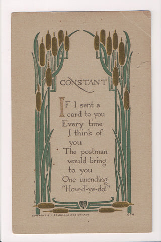 Greetings - Misc - Volland postcard #626 - CONSTANT - A19002