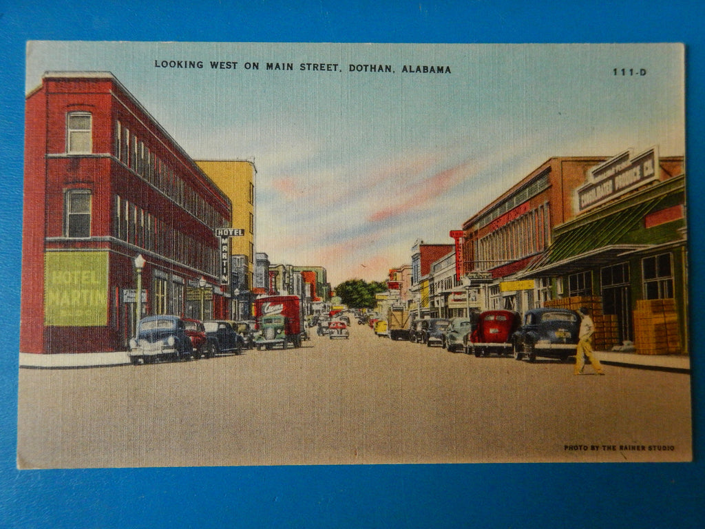 AL, Dothan - Main Street - Hotel Martin, Consolidated Produce Co - SL2666