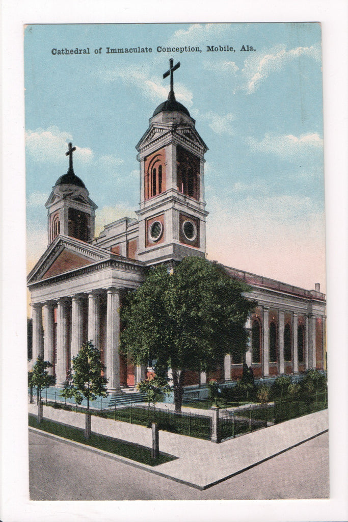 AL, Mobile - Cathedral of Immaculate Conception - D08255