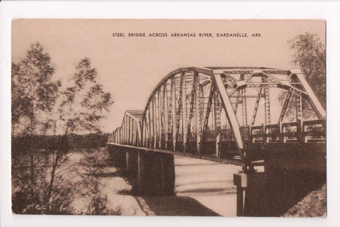 AR, Dardanelle - Steel Bridge, river (ONLY Digital Copy Avail)- CR0015