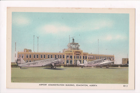 Canada - Edmonton, AB - Airport Administration Building, planes - 800905