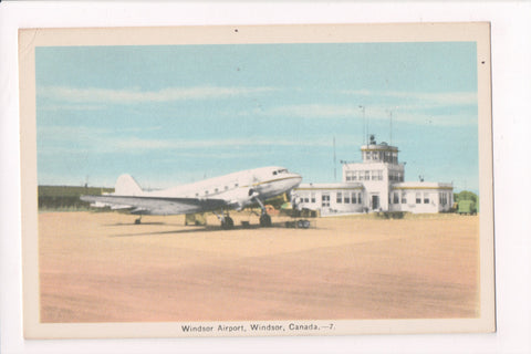 Canada - Windsor, ON - Airport postcard - A04037